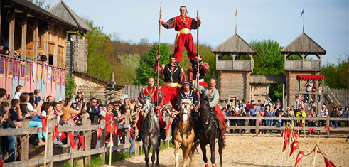 Фестиваль Кентавры-2015 в Парке Киевская Русь