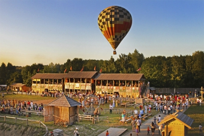 A Flight on an air-balloon